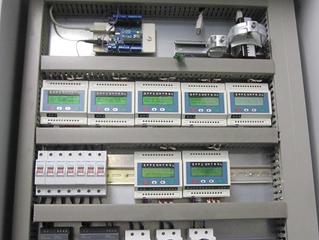 Stationäre und Mobile Wärmemengenmessung mit Ultraschall und Datenauswertung mit Loxone (SPS)
