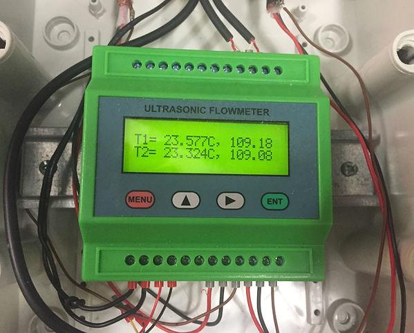 Unsere Low Cost Ultraschall Wärmemengenzähler