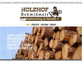 Energiemanagement / Energieberatung beim Holzhof Schmidmeir (Holzeinschlag & Handel) mit Stefan