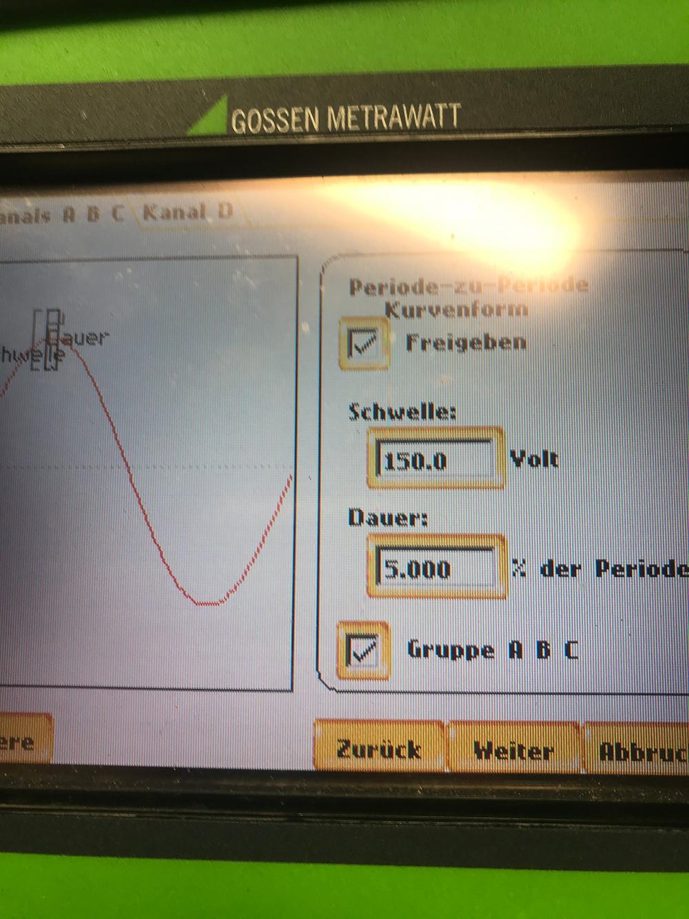 Oberschwingungen durch Frequenzumrichter im Seminar