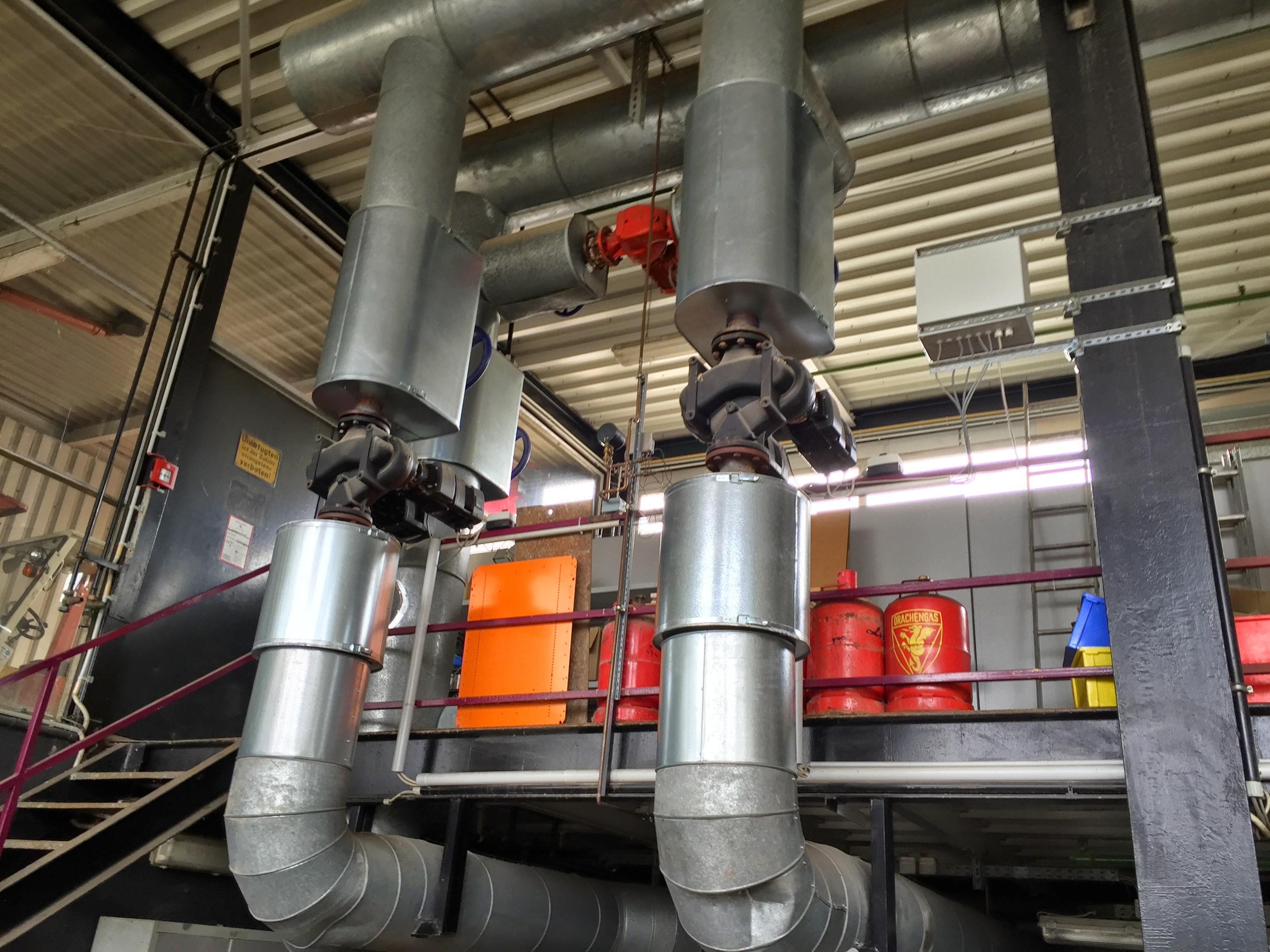 Energieaudit Logistikindustrie