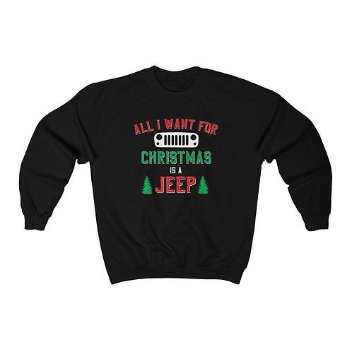I Just Want A Jeep Sweatshirt