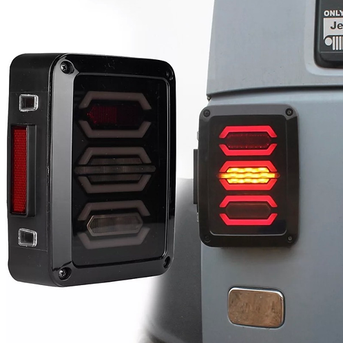 LED Tail Lights W4 (Clear and Smoked)