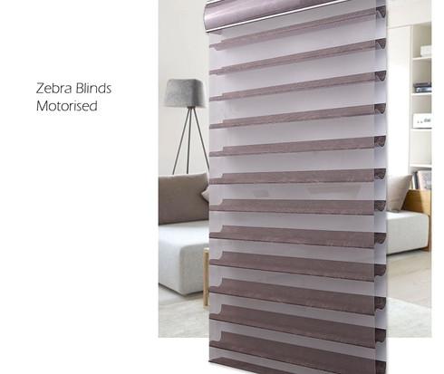 Zebra Motorised Blinds
