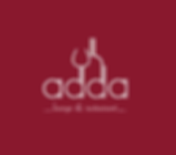 Adda Logo white color Wine backgrownd.pn