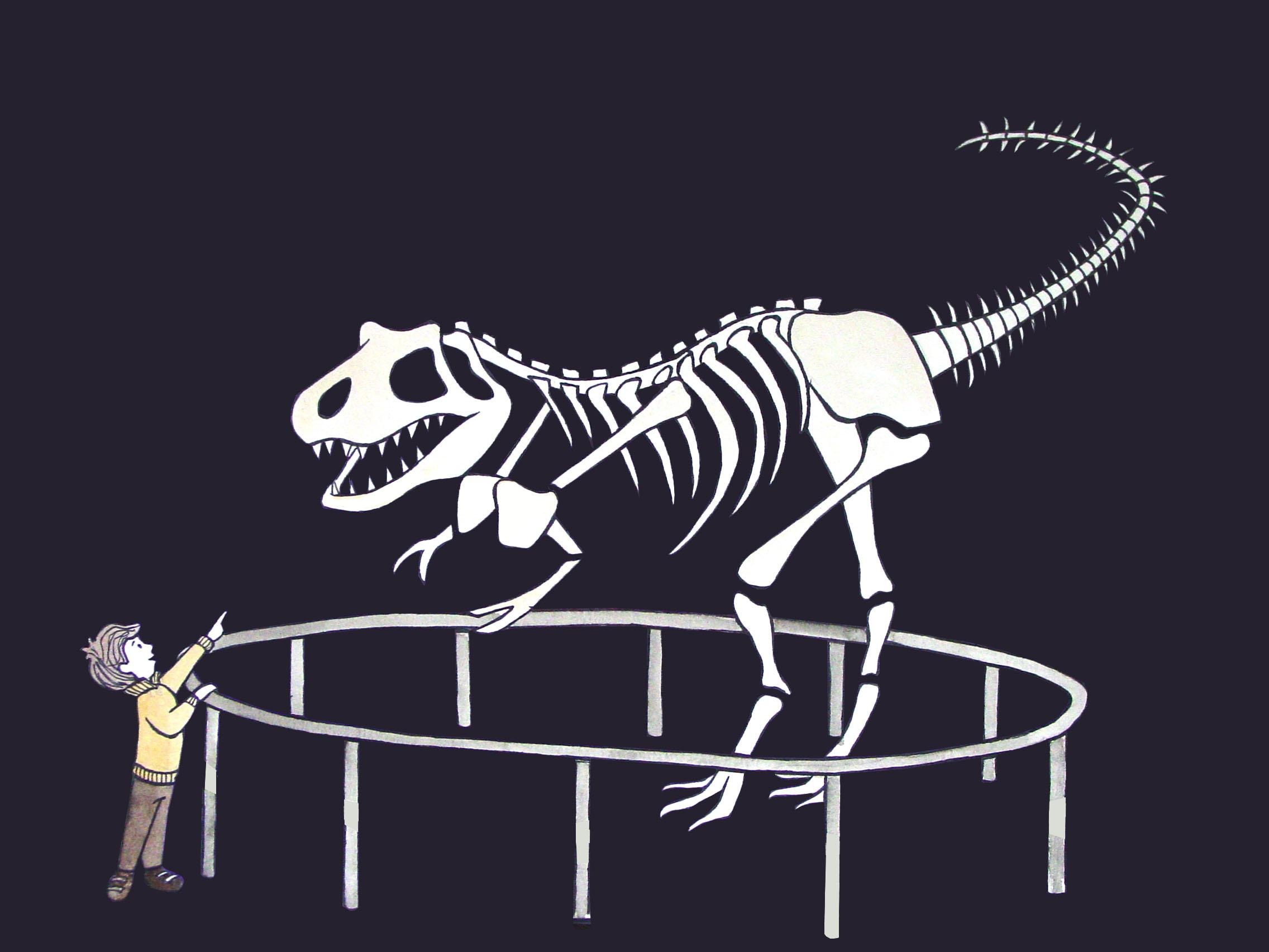 Pietro and T-Rex