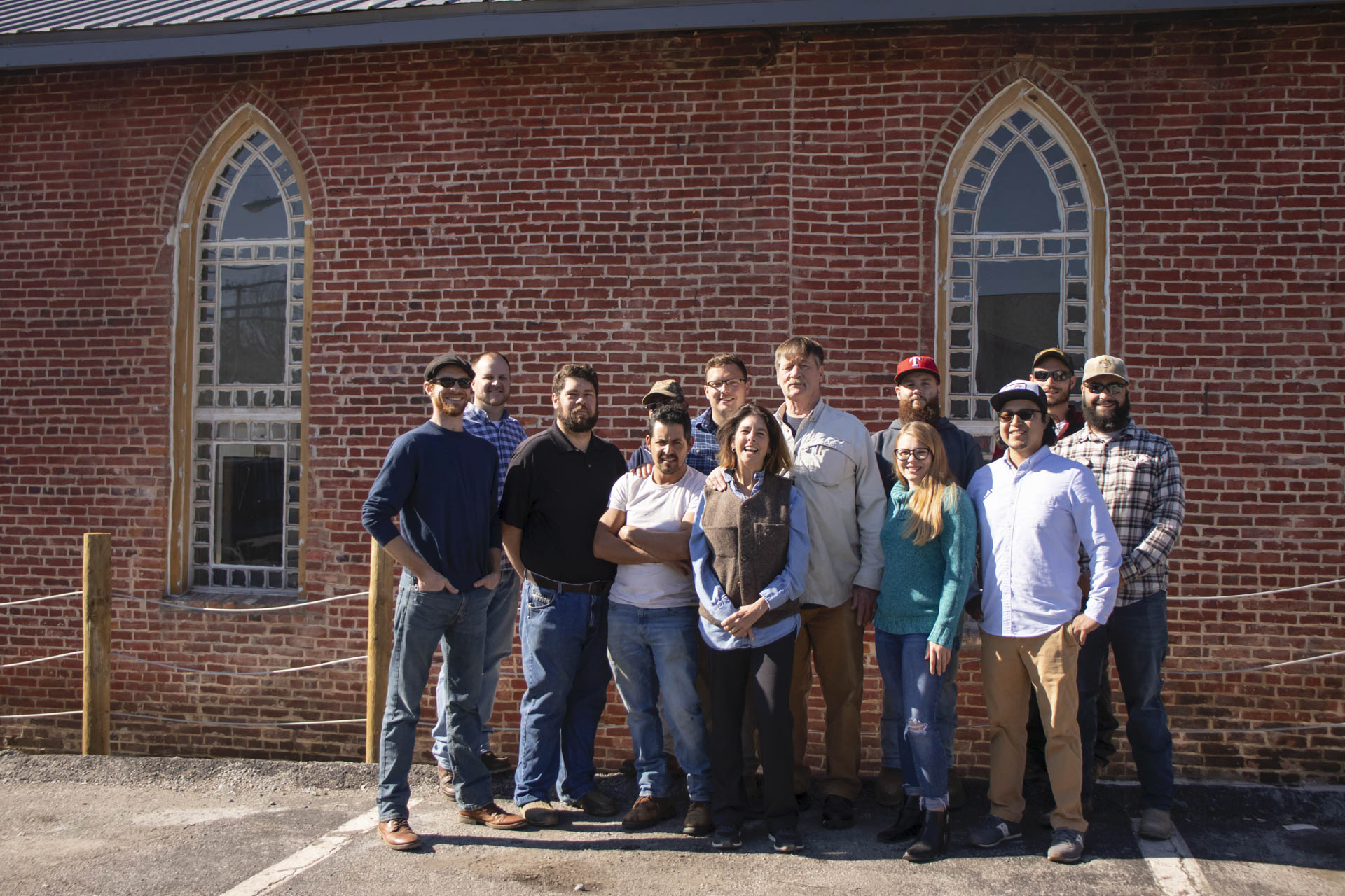 Distillery Team and Historic Windows