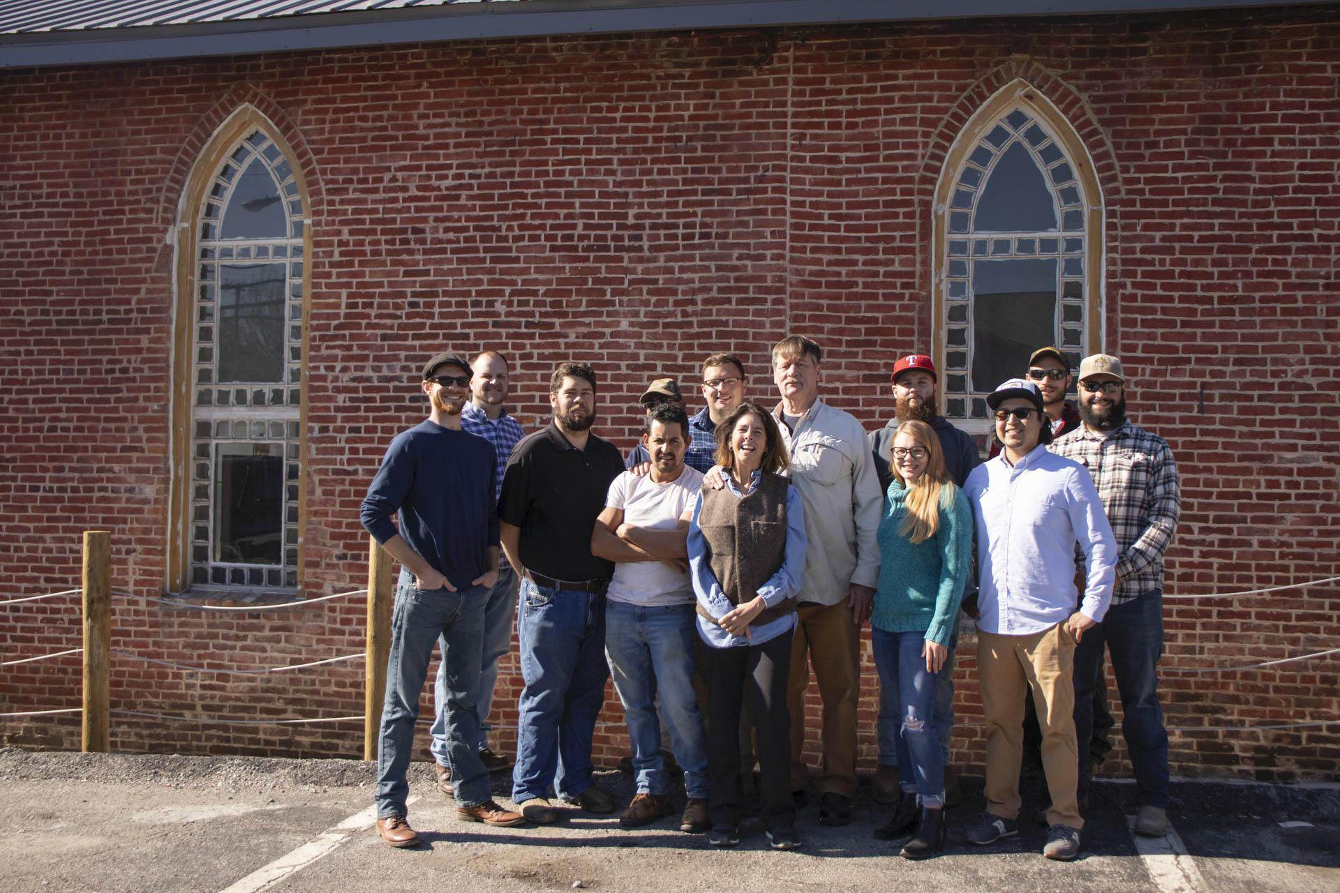 Distillery Team and Historic Windows
