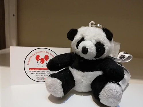 Panda sleutelhanger.