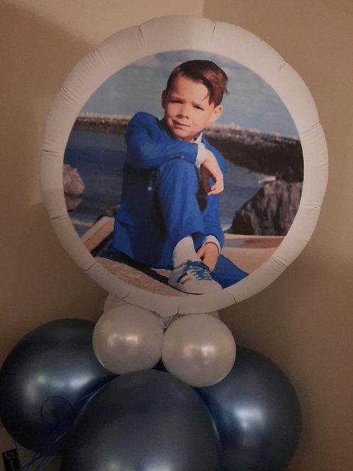 Fotoballon Decoratiestuk XL