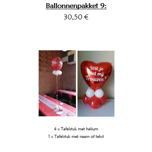 Ballonpakket 9
