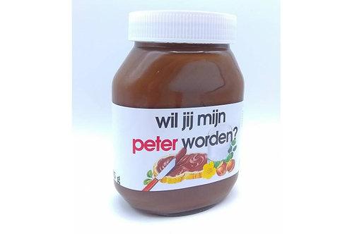 Nutella 750 gram met naam/tekst?