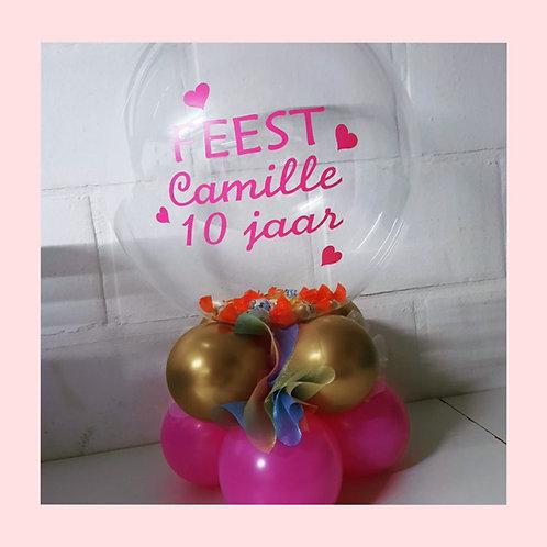 Kindersuprise-Ballon opgevuld met naam!
