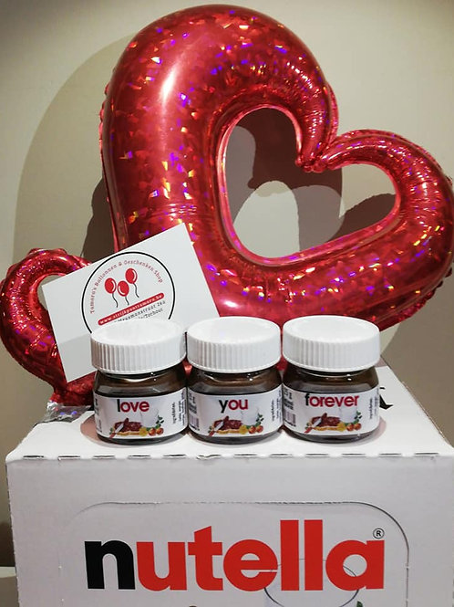 Nutella: Love you forever