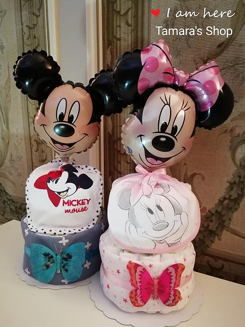 Mickey/Minnie Pampertaart 25,00 €