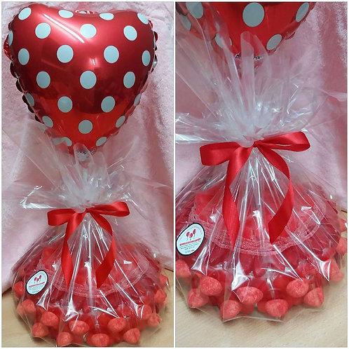 Snoeptaart Valentijn!