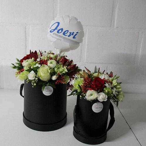 Flowerbox: Set van 2 + Fotoballon.