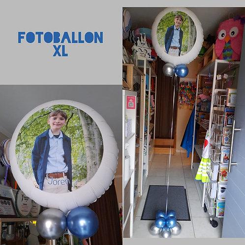 Fotoballon met helium XL