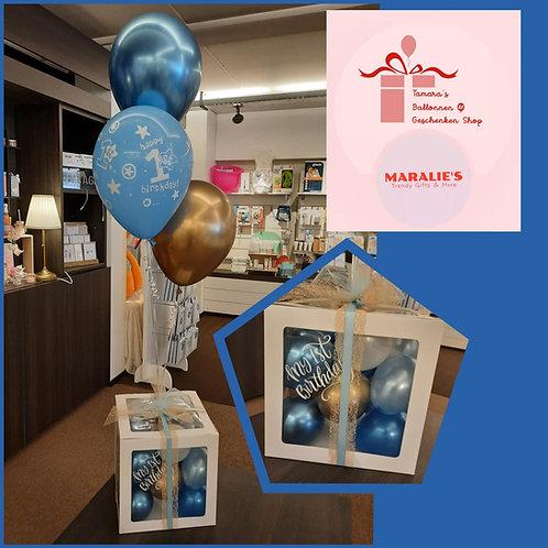 Ballonnen-Geschenk BOX