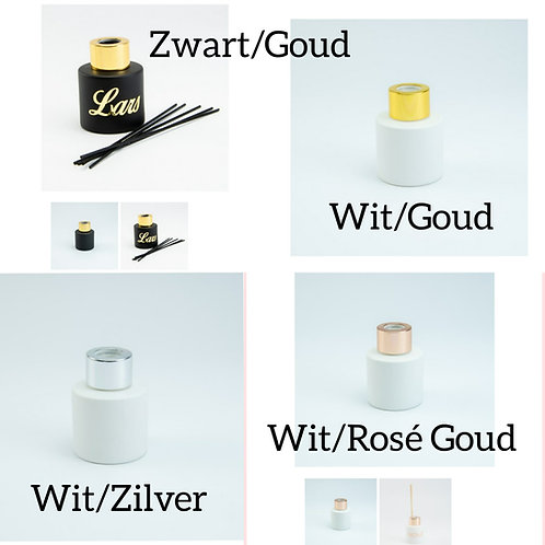 10 x Parfumflesjes (afgewerkt)