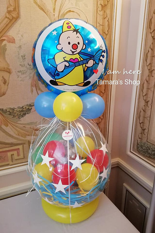 Kadoballon met Folieballon Disney/Huwelijk/verjaardag