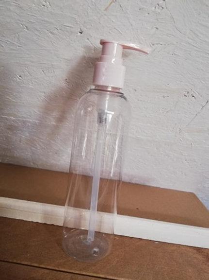 Roze PET-pompje LEEG 250 ml