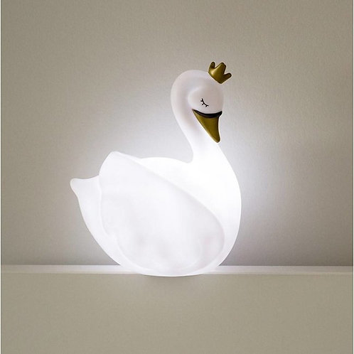 LED WIT Dame Blanche met NAAM 22 cm.