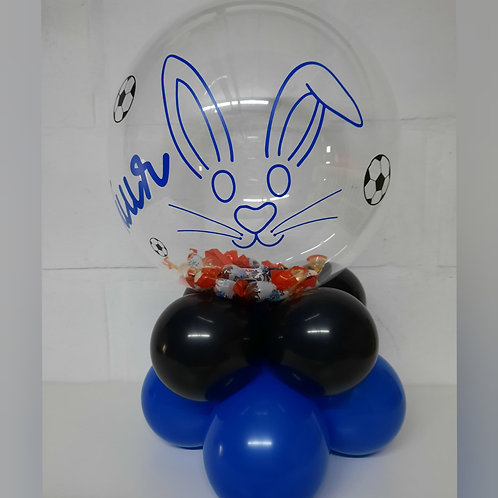 Paasballon opgevuld met naam!