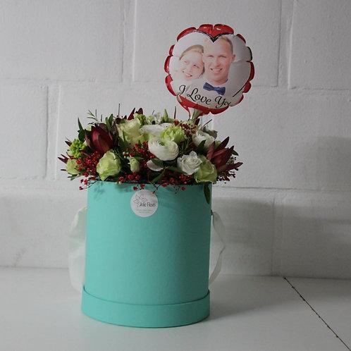 Flowerbox + Fotoballon
