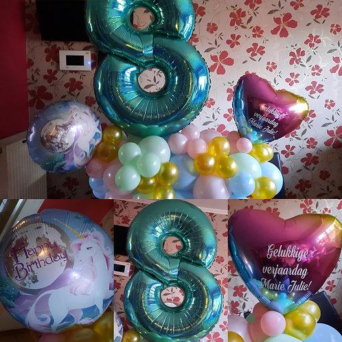 Verjaardag Decoratiestuk XXL