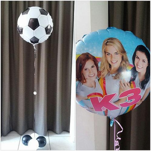 Folieballon 45 cm: Geboorte/Verjaardag/Huwelijk,...