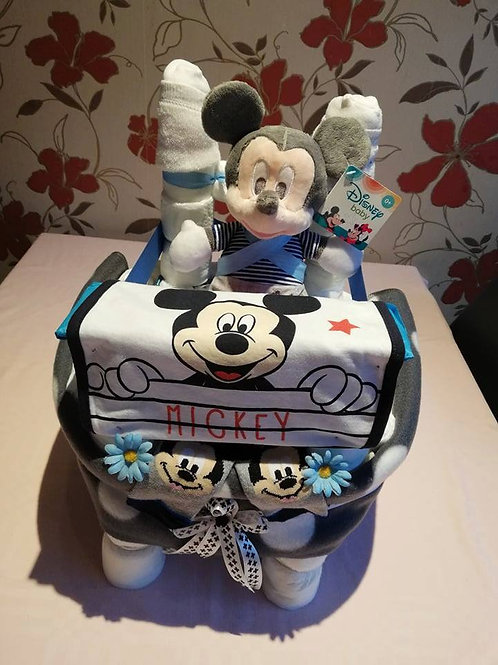 Mickey/Minnie Stoeltje Pampertaart 45.00 €
