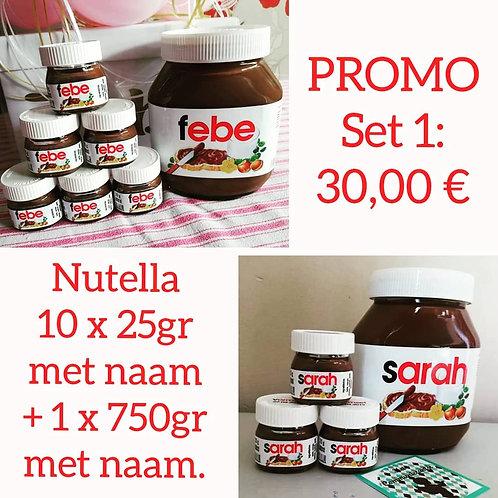 PROMO SET 1: Nutella