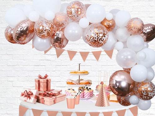 DIY Ballonnenboog ROSE GOUD