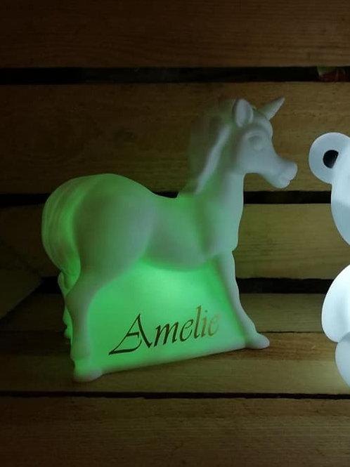 Ledlampje Unicorn 14 cm