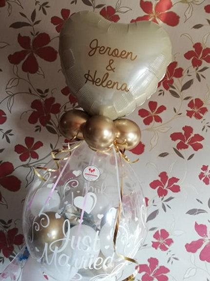 Kadoballon + Folieballon met naam/namen