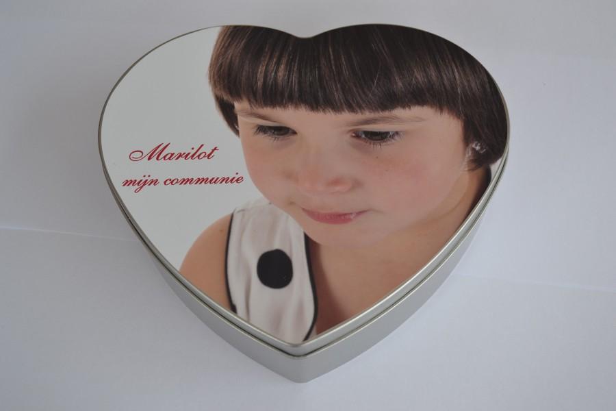 Blikkendoos hart
