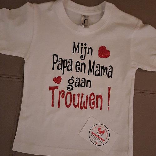 Koopje: Mijn Papa en Mama gaan trouwen!