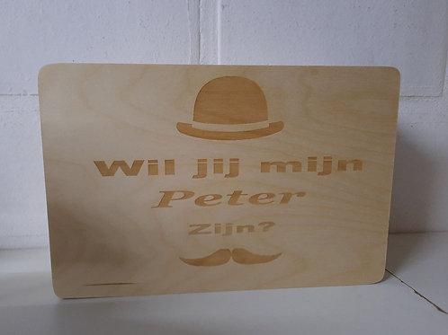 BOX: Wil jij mijn Peter zijn?