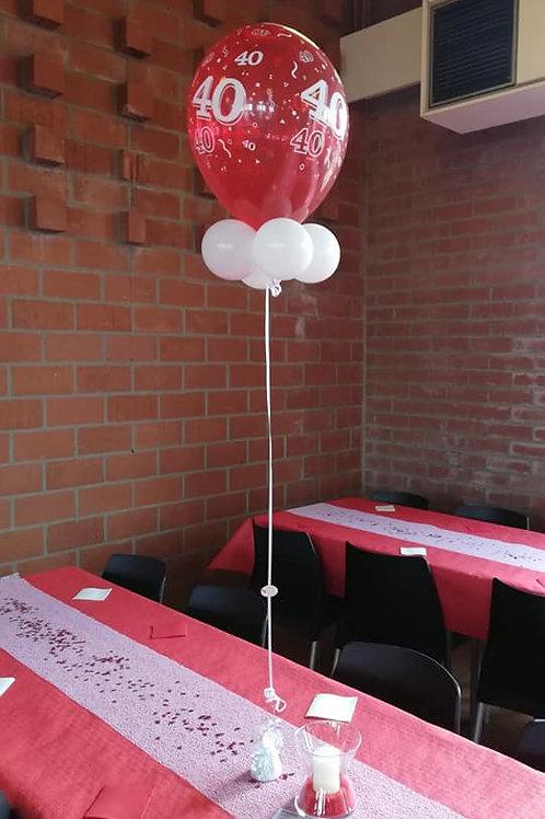Helium decoratie stuk.