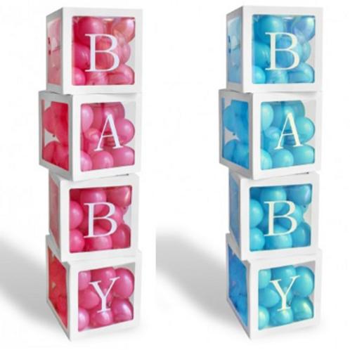 Baby ballonnen BOXEN