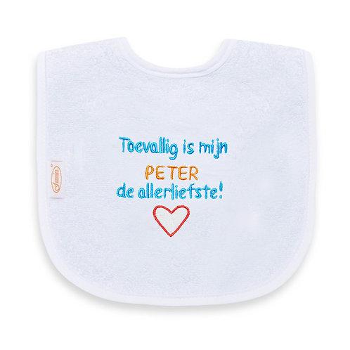 Slab: Toevallig is mijn Peter de allerliefste!