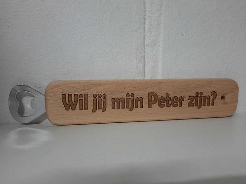 Opener GROOT: Wil jij mijn Peter zijn?