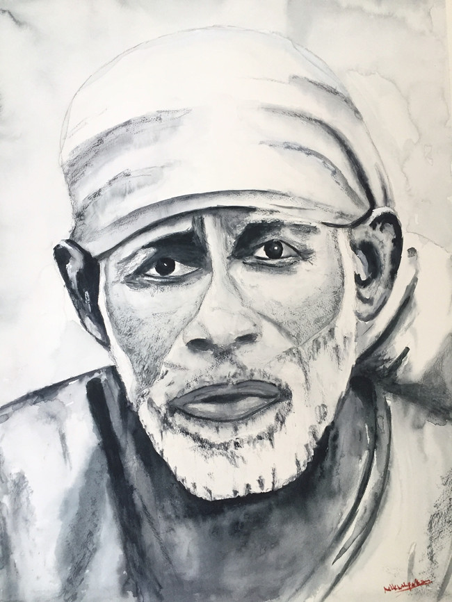Shirdi Sai Baba Portrait