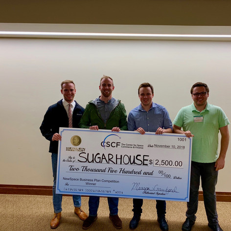 Sugarhouse Aerospace Wins 2018 NSBPC in Austin