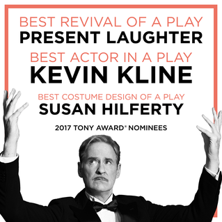 PRESENT LAUGHTER nominated for 3 Tony Awards!