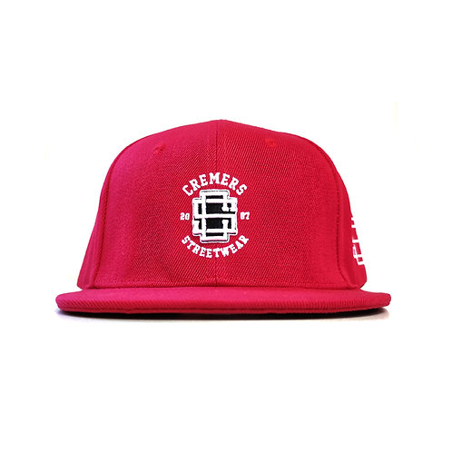 Cremers Snapback Cap Rot