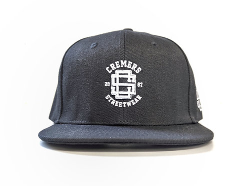 Cremers Snapback  Cap Schwarz