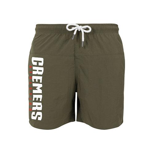 Cremers Athletics Shorts Olive