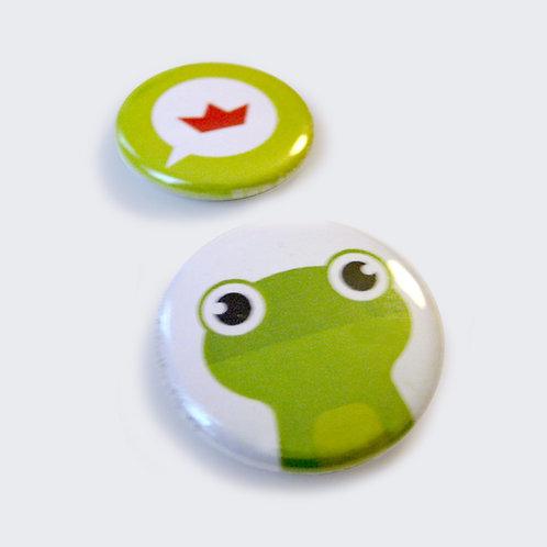 BUTTONS   Froschprinz